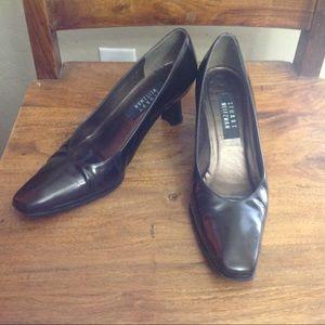 Stuart Weitzman Metallic Brown Heels sz 8 B